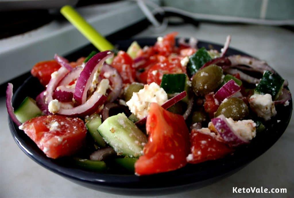 Greek Keto Salad