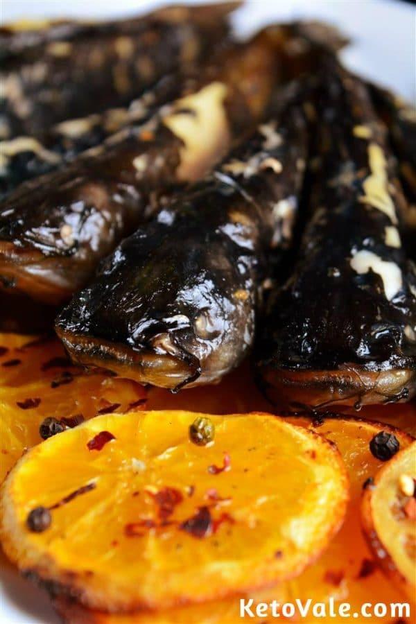 Catfish keto recipe