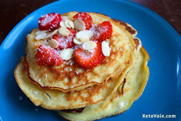Coconut Flour Pancakes Recipe