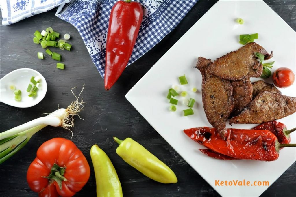 Grilled Beef Liver
