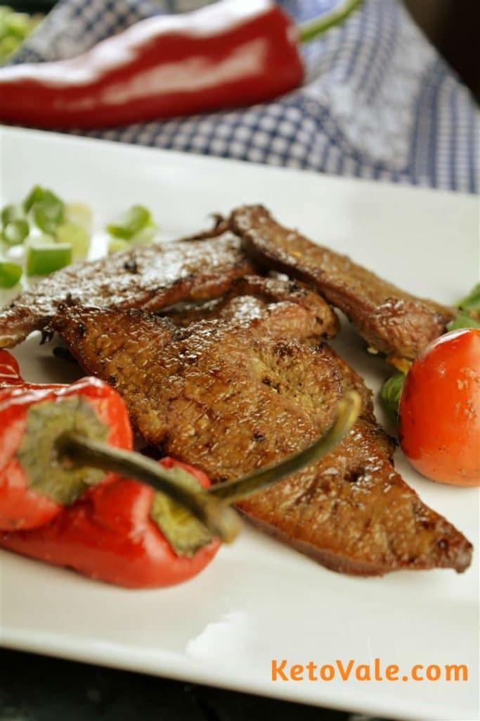 Keto Beef Liver