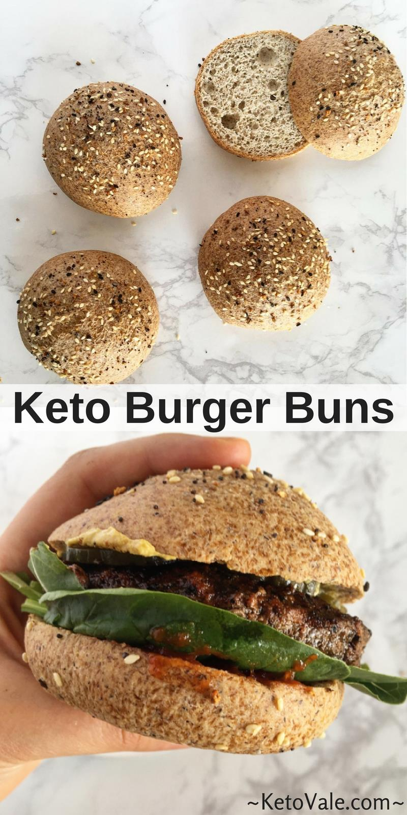Best Low Carb Bread Recipe For Buns And Rolls Keto Vale