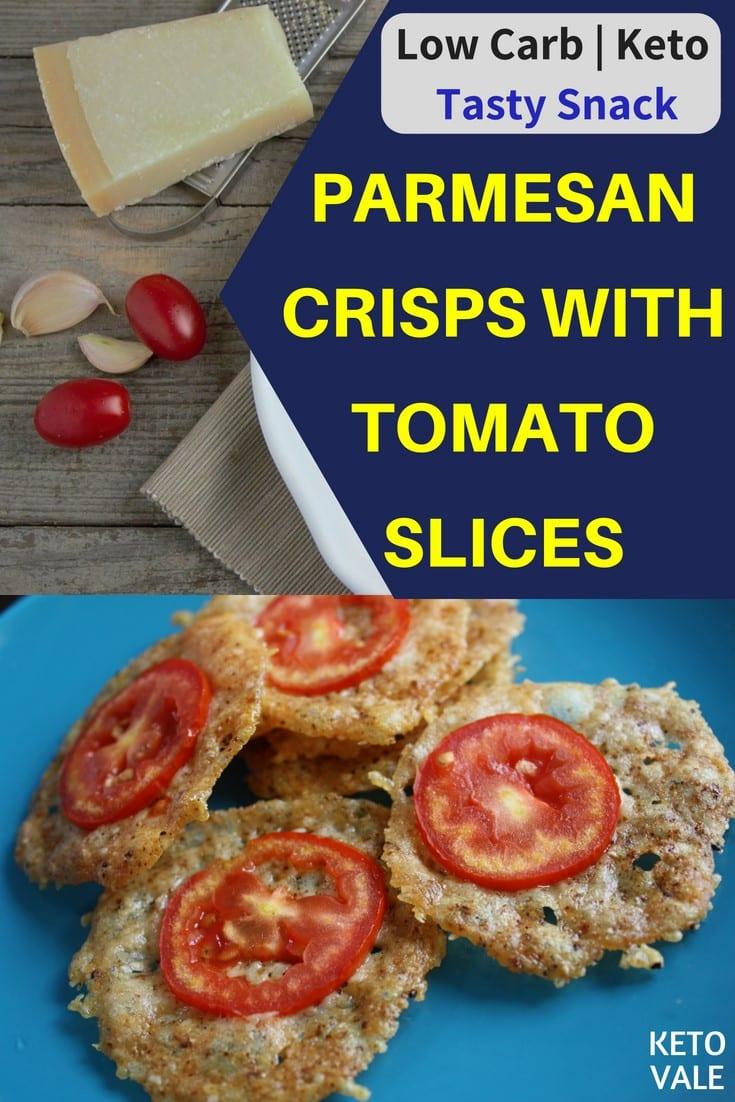 Keto Parmesan Crisps