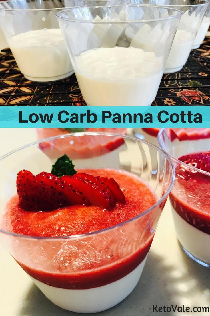 Low Carb Panna Cotta