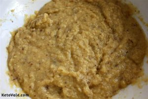 Mix everything