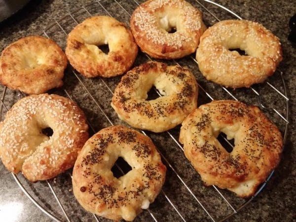Bagels almond flour recipe