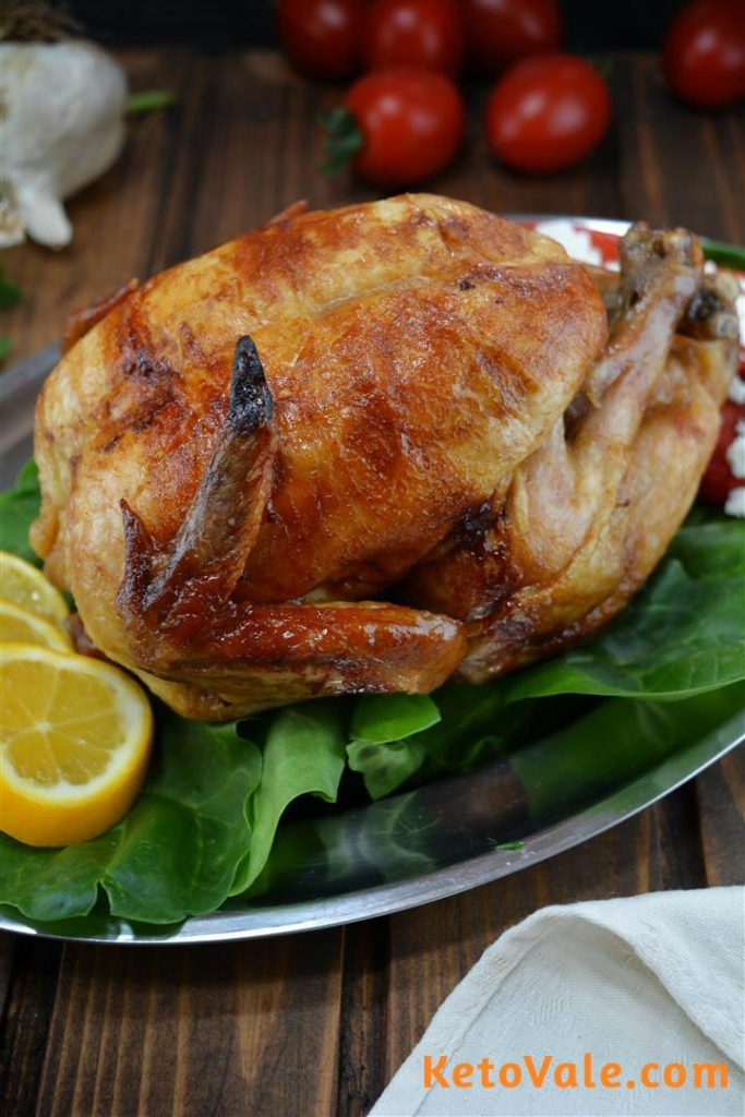 roasting whole chicken