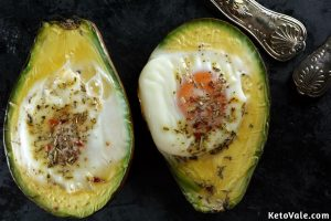 Baked Avocado Eggs Recipe