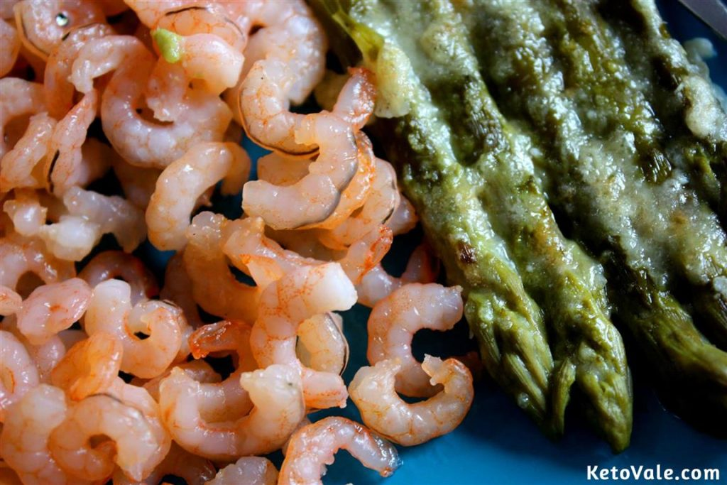Baked Shrimp with Asparagus