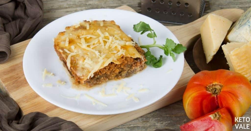 Beef Eggplant Lasagna