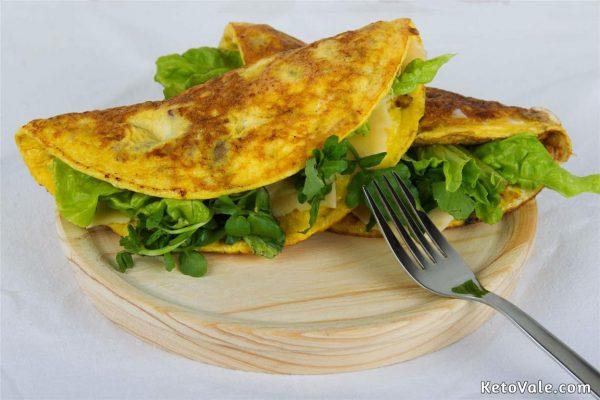 Keto Omelette Breakfast