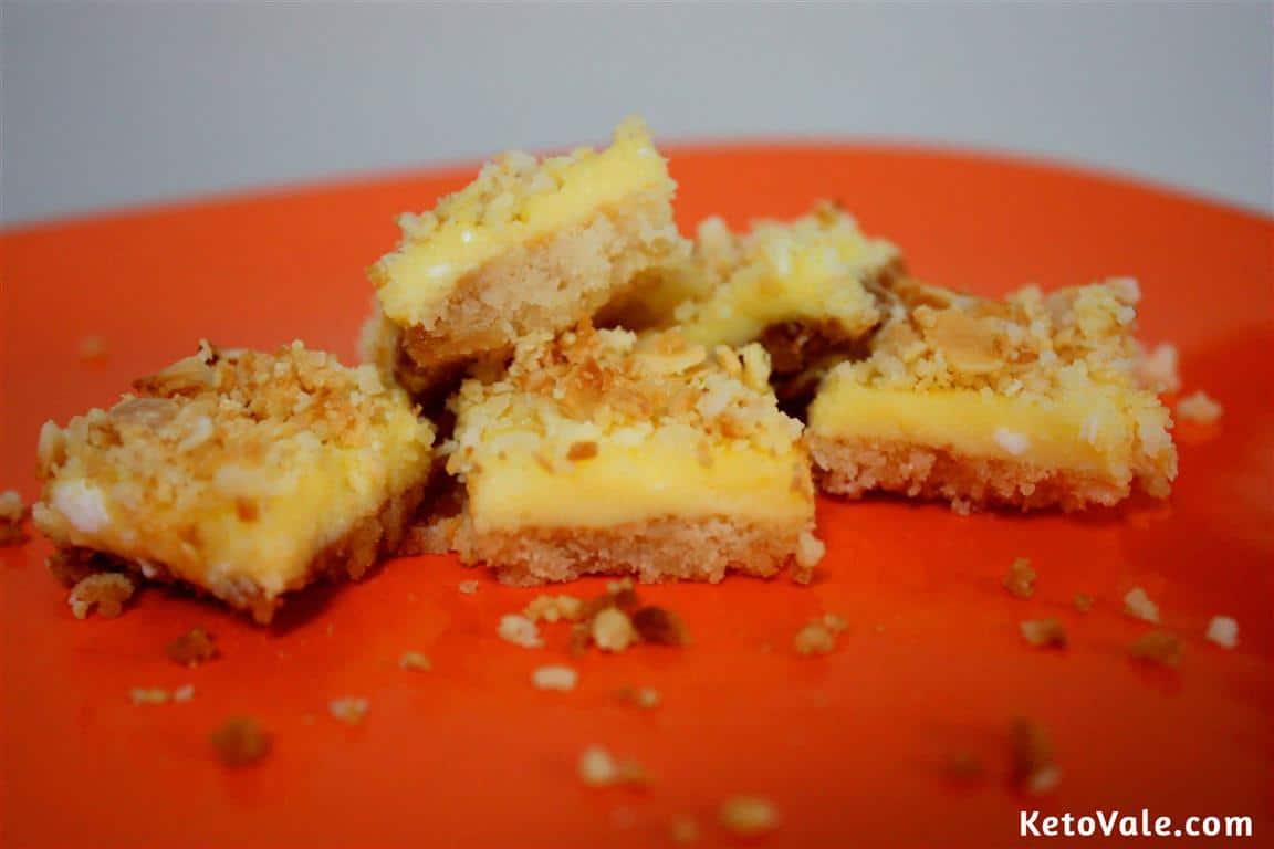 Low Carb Lemon Almond Cake