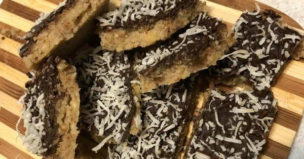 No bake keto cookie bars