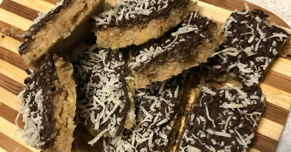 No bake keto cookie bars