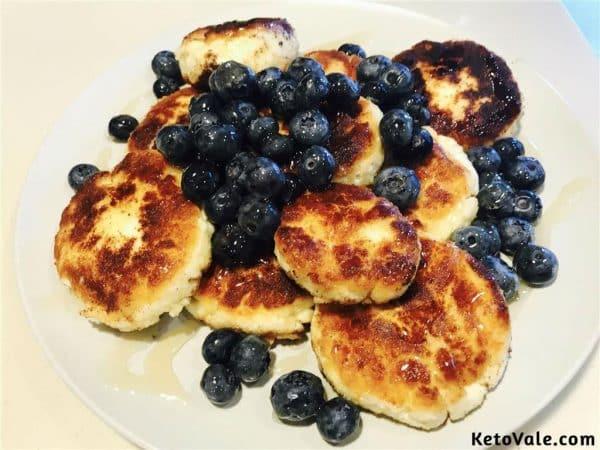 Russian syrniki pancake