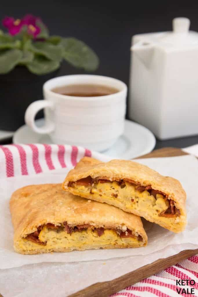 bacon egg hot pockets
