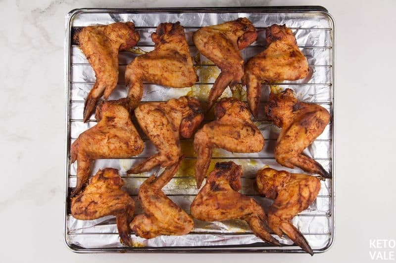 bake buffalo wings in oven