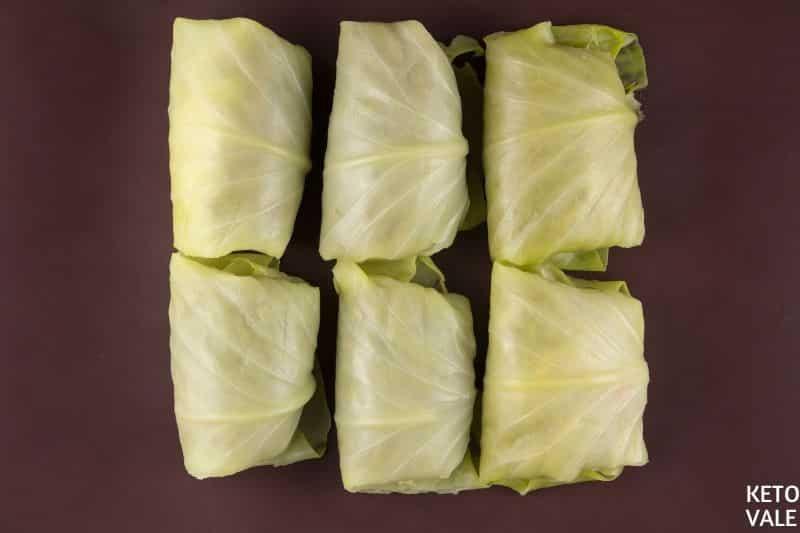 bake lasagna cabbage rolls