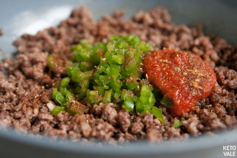 beef topping for taco