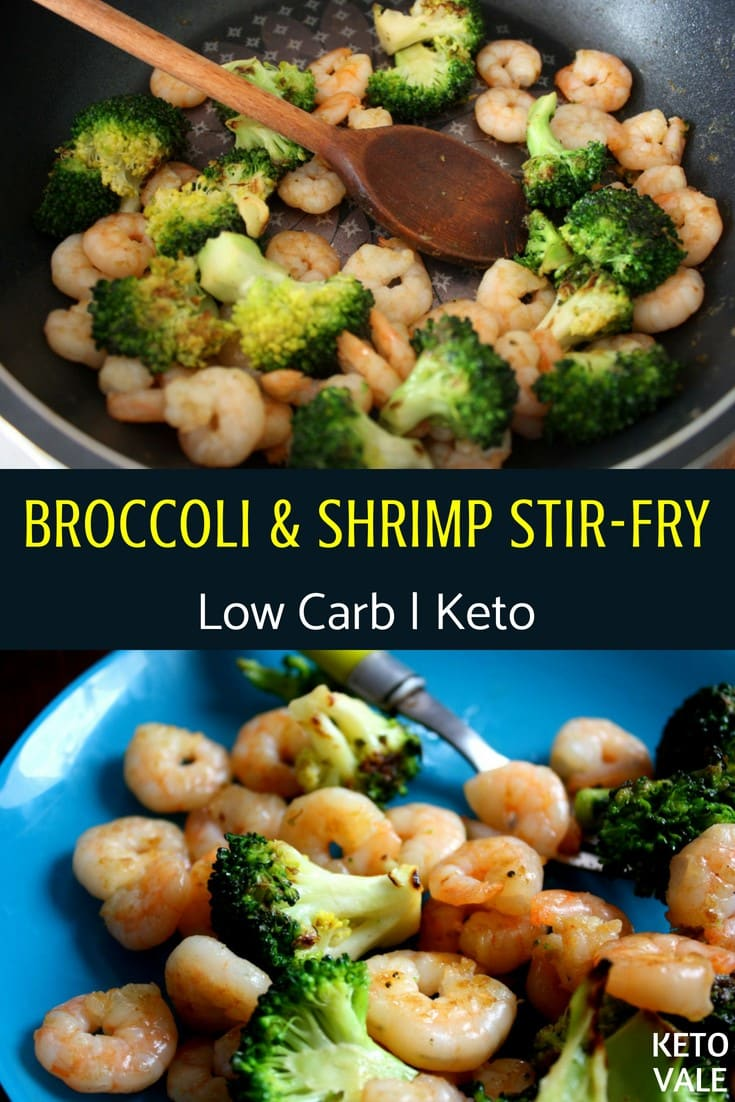broccoli and shrimp stir fry