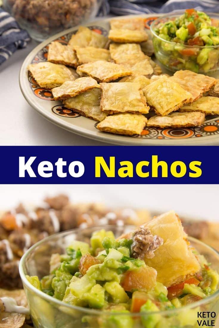 keto beef nachos
