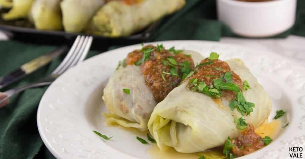 lasagna cabbage rolls