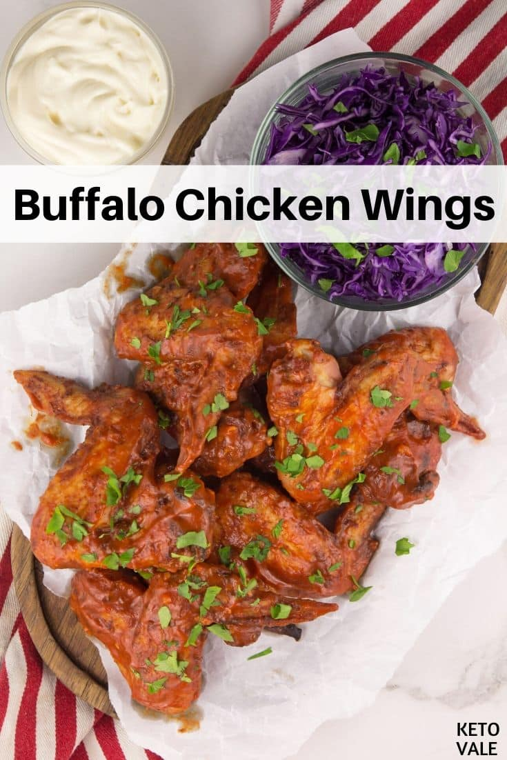low carb buffalo chicken wings
