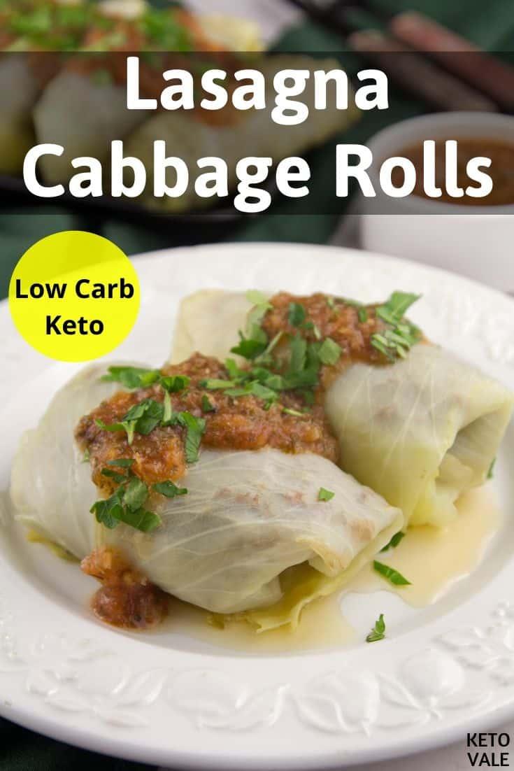 low carb lasagna cabbage rolls