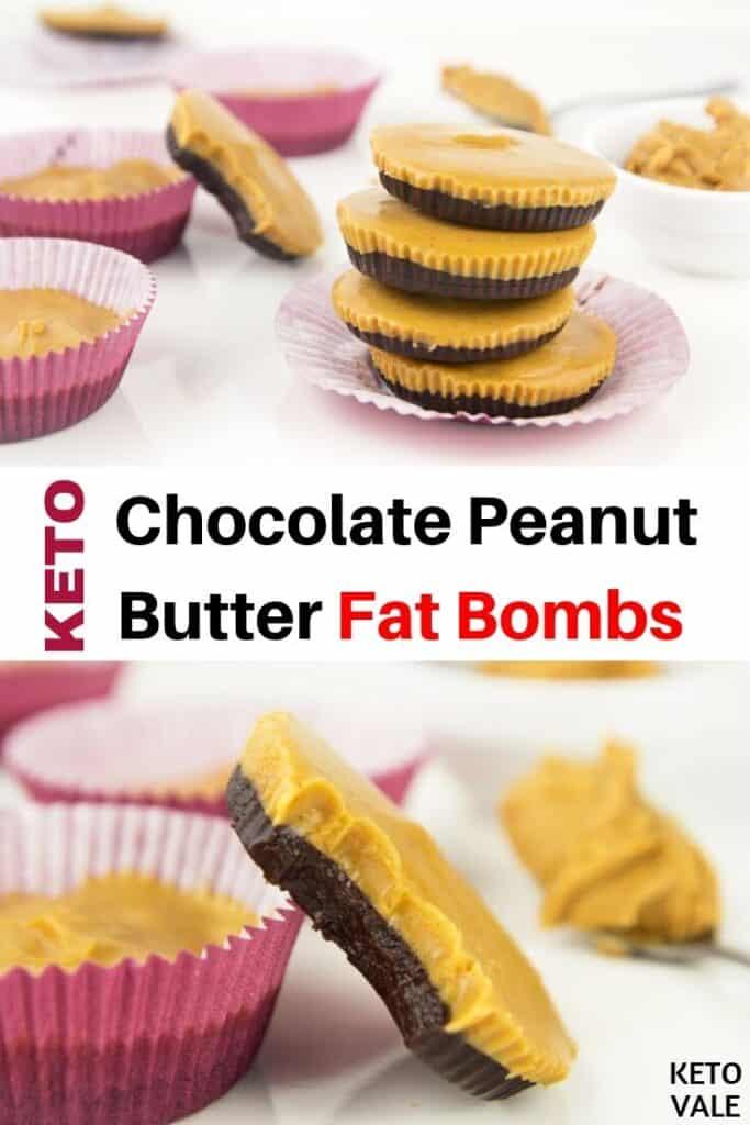 sugar free peanut butter fat bomb