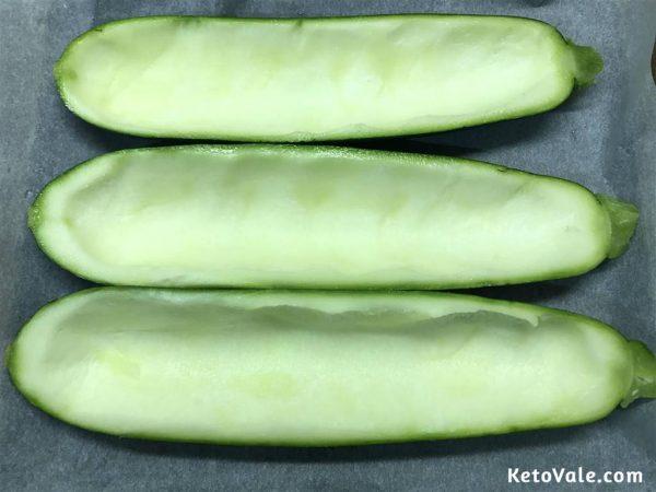 zucchini shells