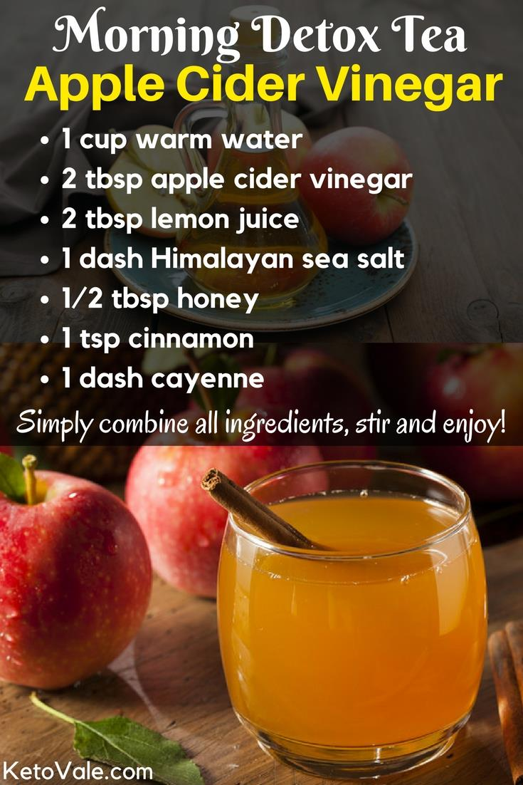 Apple Cider Vinegar Detox Tea