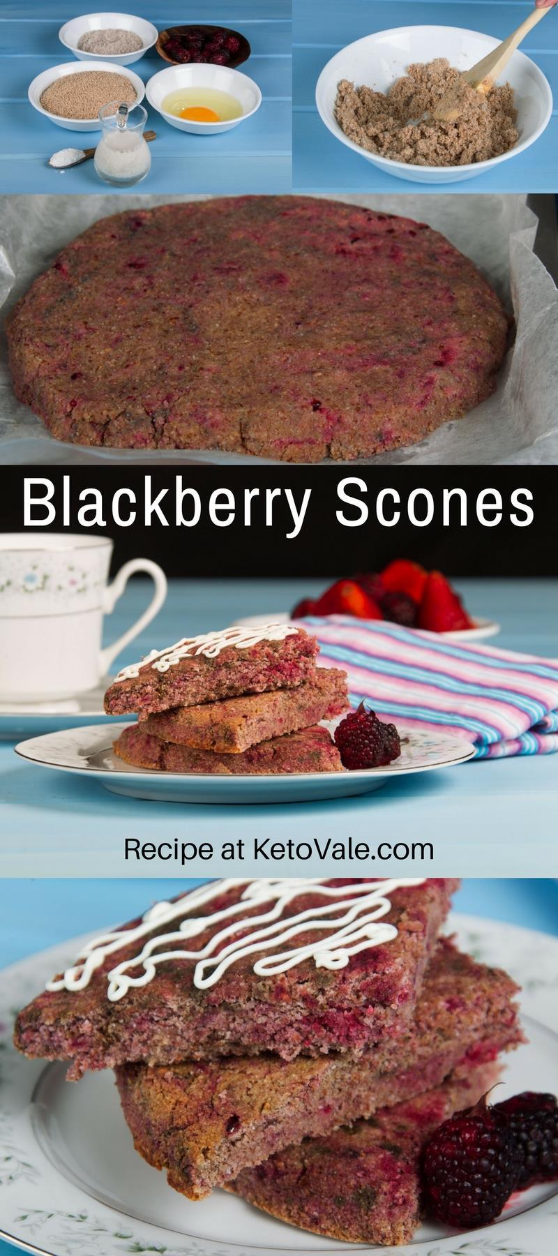 Blackberry Scones Recipe