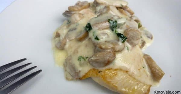 Chicken Breast with Creamy Mushroom Sauce