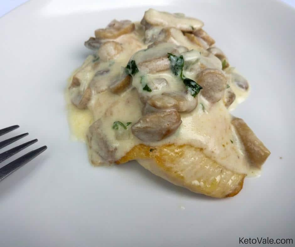 Chicken Breast Creamy Mushroom Sauce Recipe