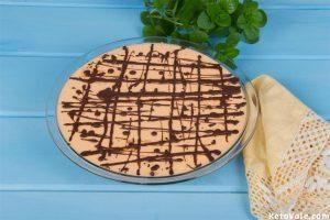 Chilling Jaffa Cheesecake