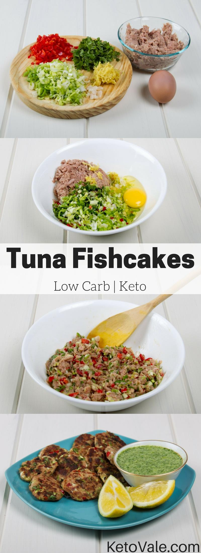 Keto Tuna Fishcakes