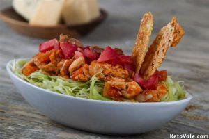 Low Carb Zucchini Pasta