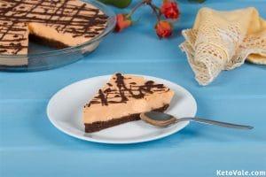 No Bake Jaffa Jelly Cheesecake