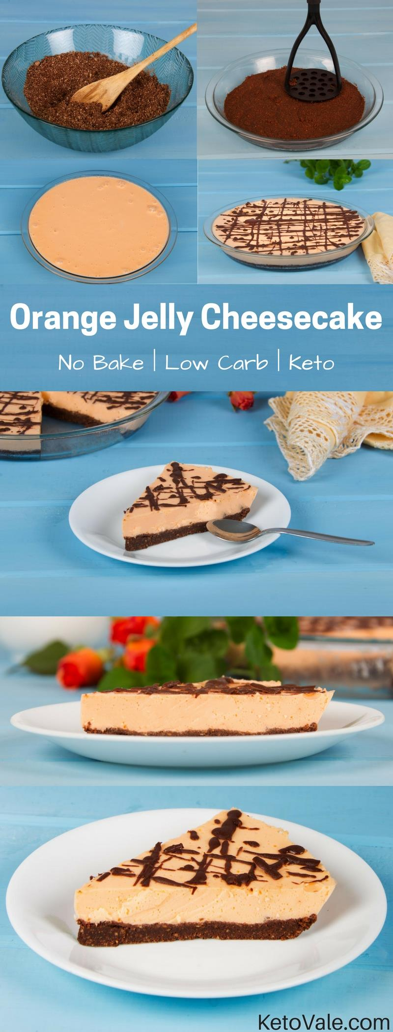 No Bake Jelly Cheesecake Recipe