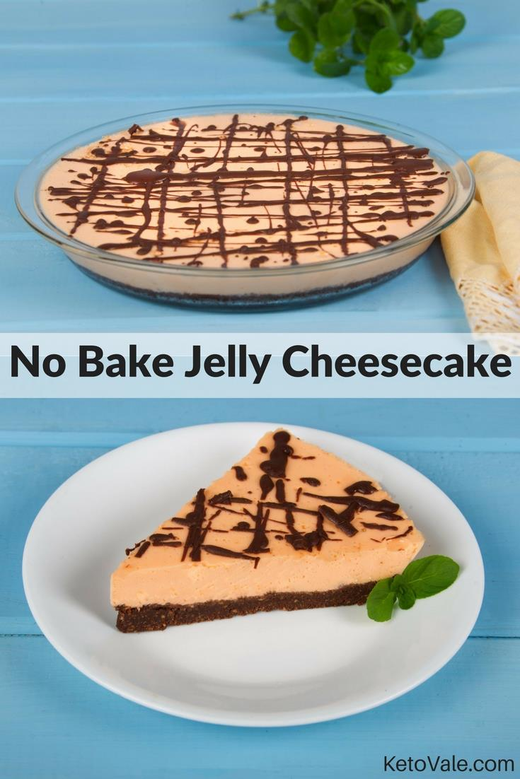 No Bake Jelly Cheesecake