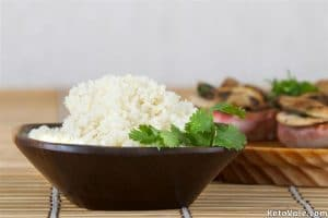 Riced Cauliflower