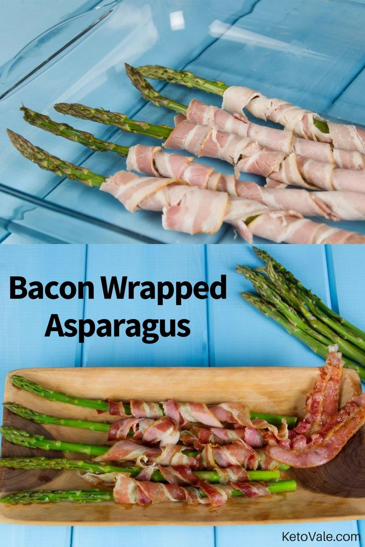 Roasted Bacon Asparagus