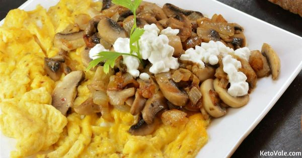 Scrambled Eggs Mushrooms