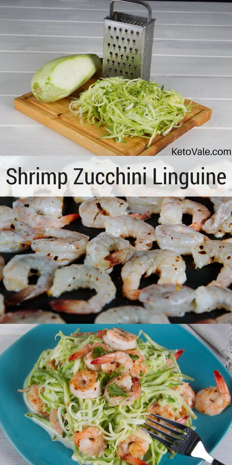 Shrimp Zucchini Linguini