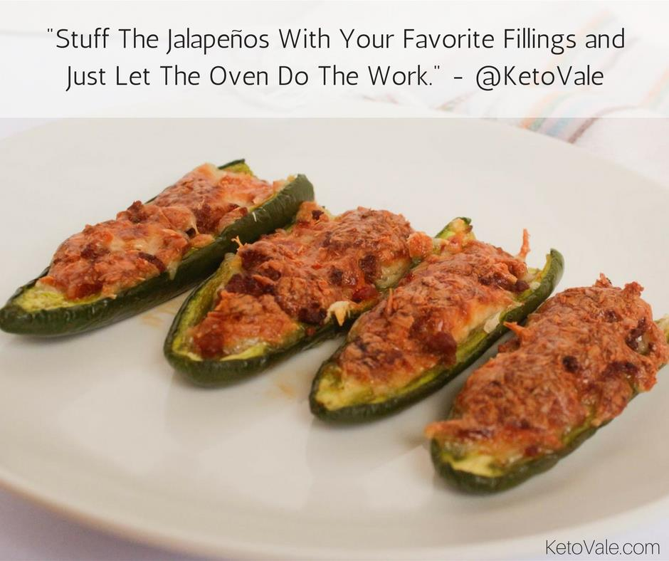 Stuff The Jalapeños With Your Favorite Fillings And Just Let The Oven Do The Work