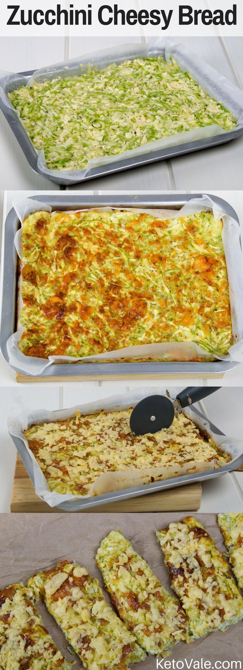 Zucchini Cheesy Bread