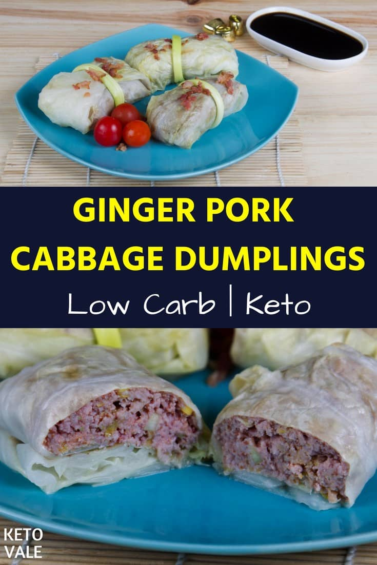 keto cabbage dumplings