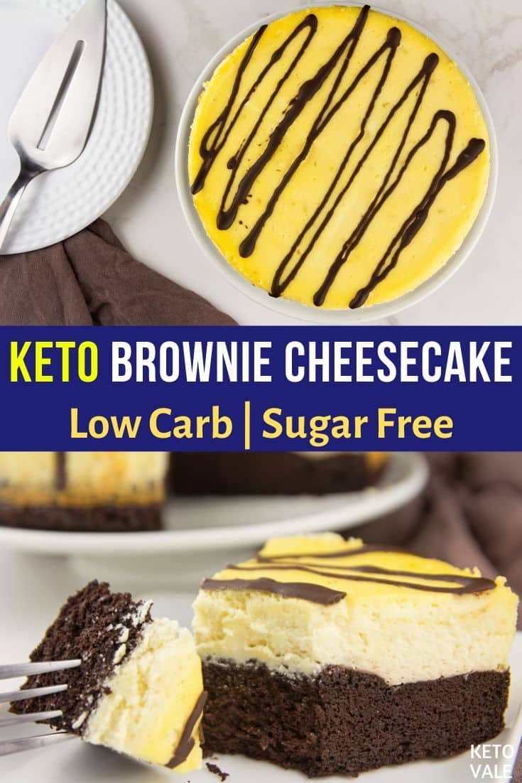 low carb brownie bottom cheesecake