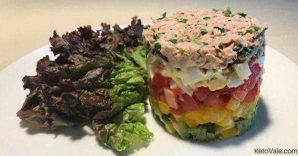 Avocado and Tuna Tartare