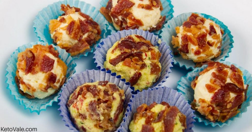 Bacon Egg Avocado Fat Bombs